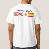 SPANISHNESS origin and countries. Ahead and behind T-Shirt