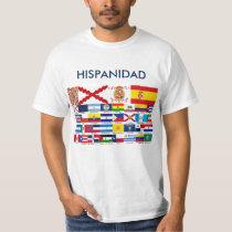 SPANISHNESS origin and countries T-Shirt