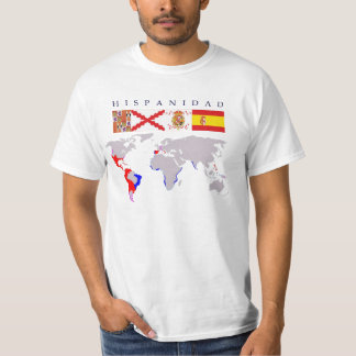 SPANISHNESS origin with map T-Shirt