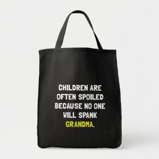 Spank Grandma Tote Bag