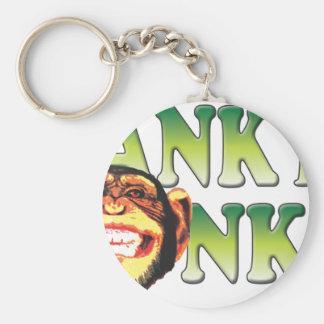 Spank My Monkey Basic Round Button Keychain