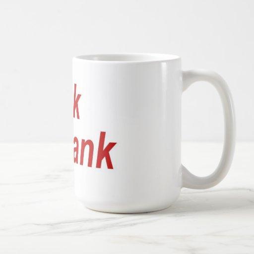 Spank The Bank Mug Large