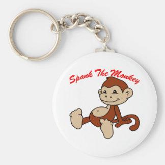 Spank The Monkey Keychain