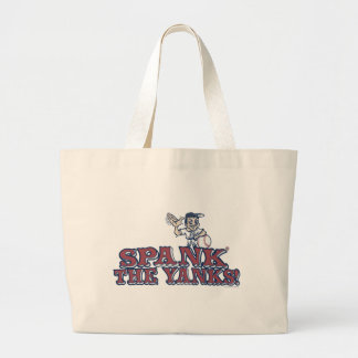 Spank the Yanks Anti-Yankee Gear Jumbo Tote Bag