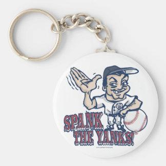 Spank the Yanks Anti-Yankee Gear Basic Round Button Keychain