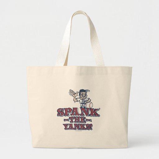 Spank the Yanks Anti-Yankee Gear Tote Bags