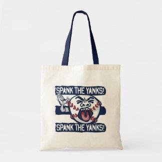 Spank the Yanks Outrageous Baseball Budget Tote Bag