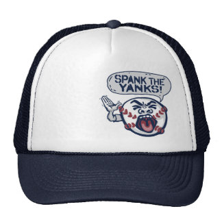 Spank the Yanks Outrageous Baseball Mesh Hat