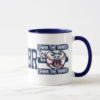Spank the Yanks Outrageous Baseball Mug