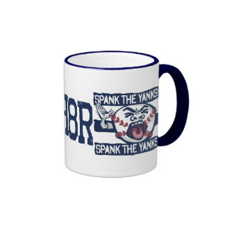 Spank the Yanks Outrageous Baseball Coffee Mug