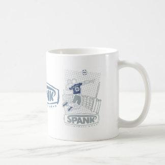 Spank Volleyball Indoor Male Coffee Mug