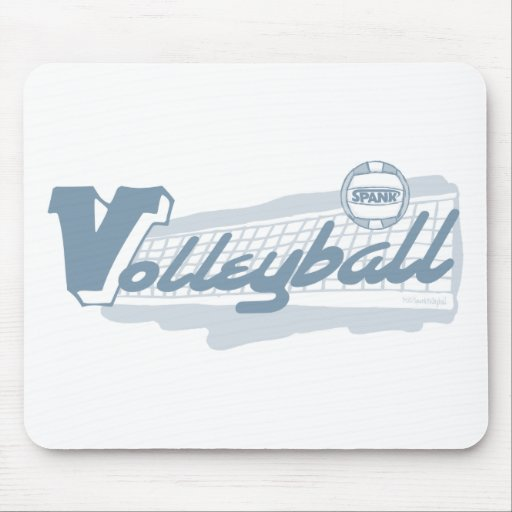 Spank Volleyball Mouse Pad