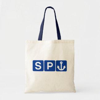 Spanker Symbol Joke Tote Bag