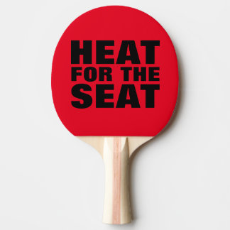 Spanking Paddles, HEAT FOR THE SEAT Ping Pong Paddle