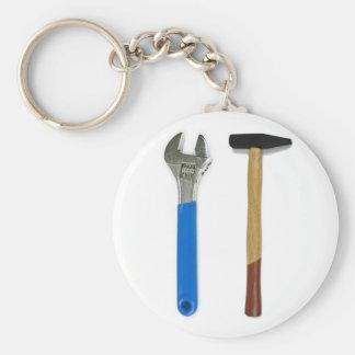 spanner hammer keychain