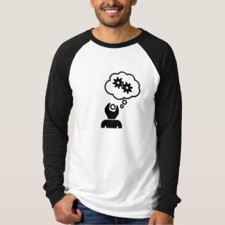 Spannerhead Gears Thought Bubble Baseball Shirt