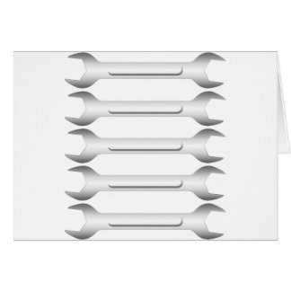 Spanners Greeting Card
