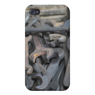 Spanners Case Savvy iPhone 4 Matte Finish Case Covers For iPhone 4