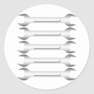 Spanners Classic Round Sticker