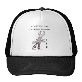 Spanners - No bolt too wide no thread too long Trucker Hat