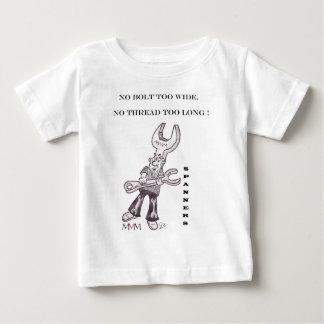 Spanners - No bolt too wide no thread too long Tee Shirt