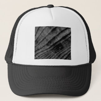 spans in wood contours trucker hat