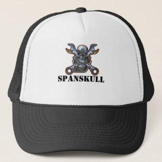 SPANSKULL TRUCKER HAT