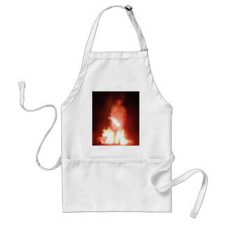 Sparagmos Transition Fire Demon Angel Colored Adult Apron