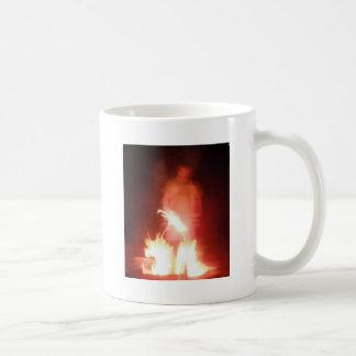 Sparagmos Transition Fire Demon Angel Colored Coffee Mug