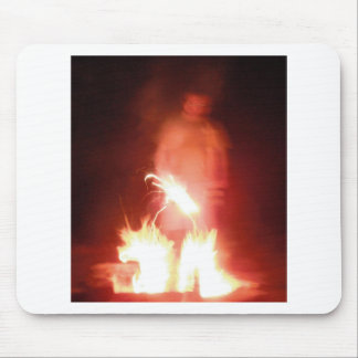 Sparagmos Transition Fire Demon Angel Colored Mouse Pad