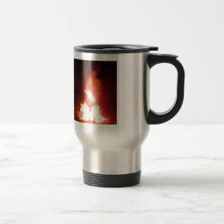 Sparagmos Transition Fire Demon Angel Colored Travel Mug