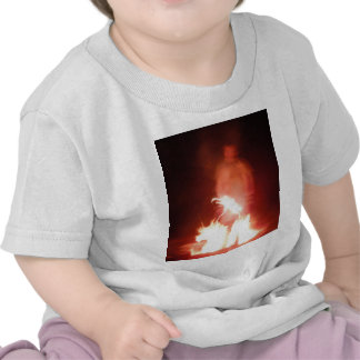 Sparagmos Transition Fire Demon Angel Colored Tshirt