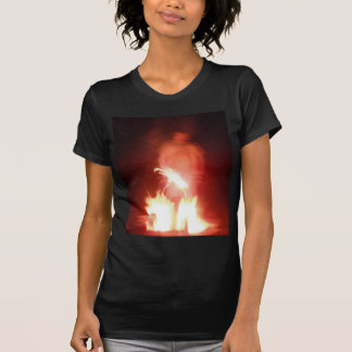 Sparagmos Transition Fire Demon Angel Colored T Shirt