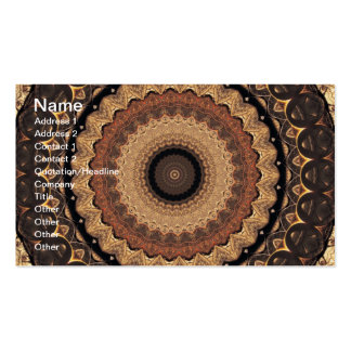Spare Change Kaleidoscope Business Card