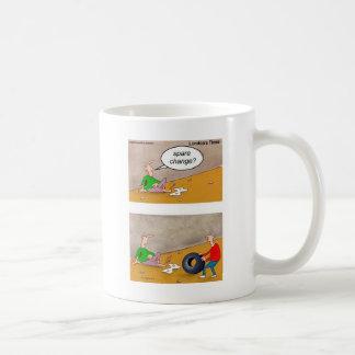Spare Change: Offbeat Funny Cartoon Gifts & Tees Coffee Mug