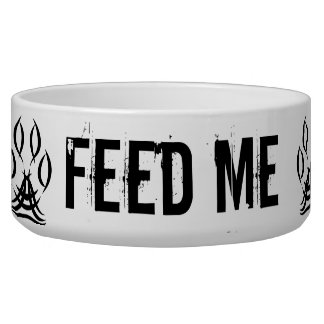 SPARE FEED ME Dog Bowl