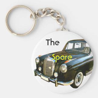 Spare Key-car Keychain