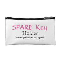 Spare Key Holder by Grassrootsdesigns4u Cosmetic Bags