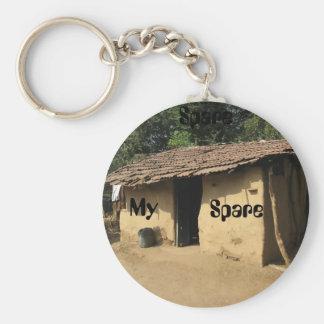 Spare Key-house Keychain