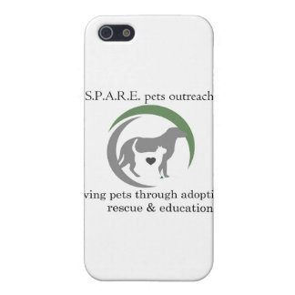 SPARE logo Cover For iPhone SE/5/5s