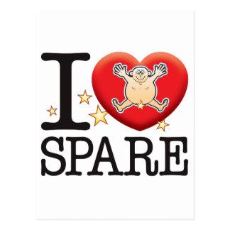 Spare Love Man Postcard