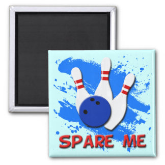 SPARE ME 2 INCH SQUARE MAGNET