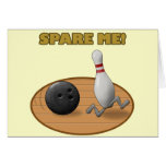 Spare Me Greeting Cards