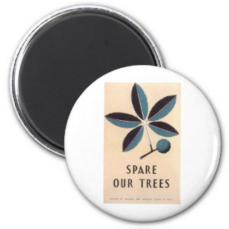 spare our trees magnet