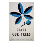 Spare Our Trees Posters