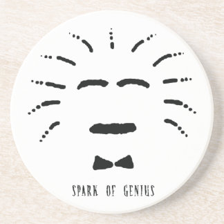 Spark of Genius Sandstone Coaster