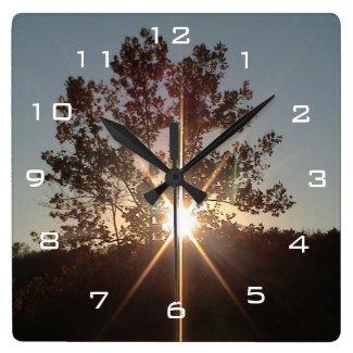 Spark of Inspiration Acrylic Wall Clock
