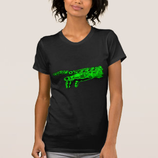 Spark of Life - Hand of a Cyborg God Neon Green Tees