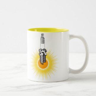 Spark Plug Burst Mug