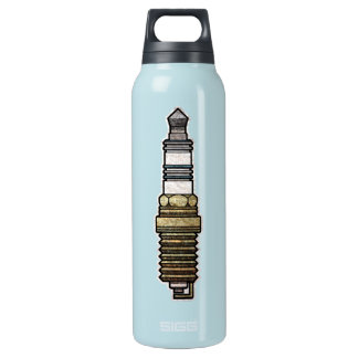Spark Plug Insulated Water Bottle